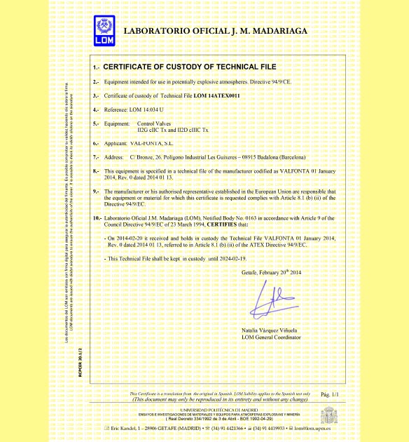 certificats 02 - Valfonta
