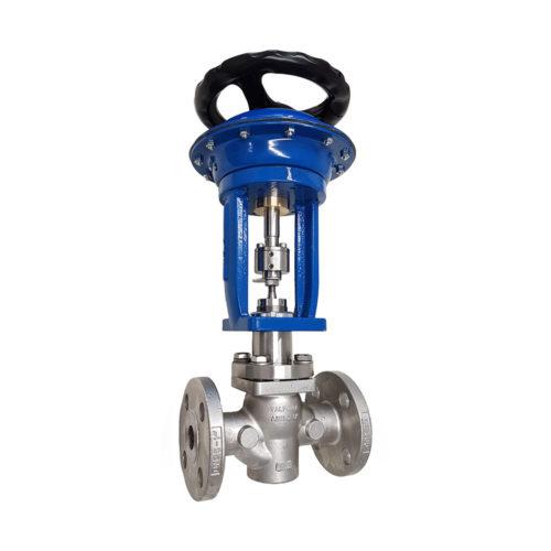 Válvula de control con actuador neumático C1
