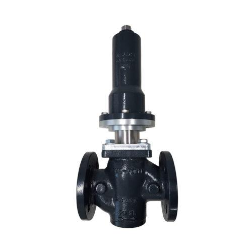 Válvula reductora de presión con fuelle