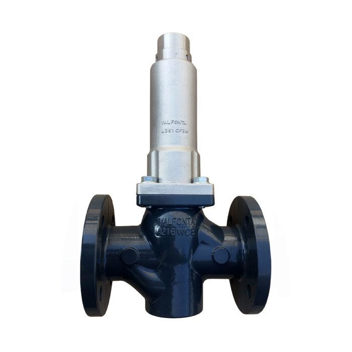 válvulas de alivio de presión contra incendios