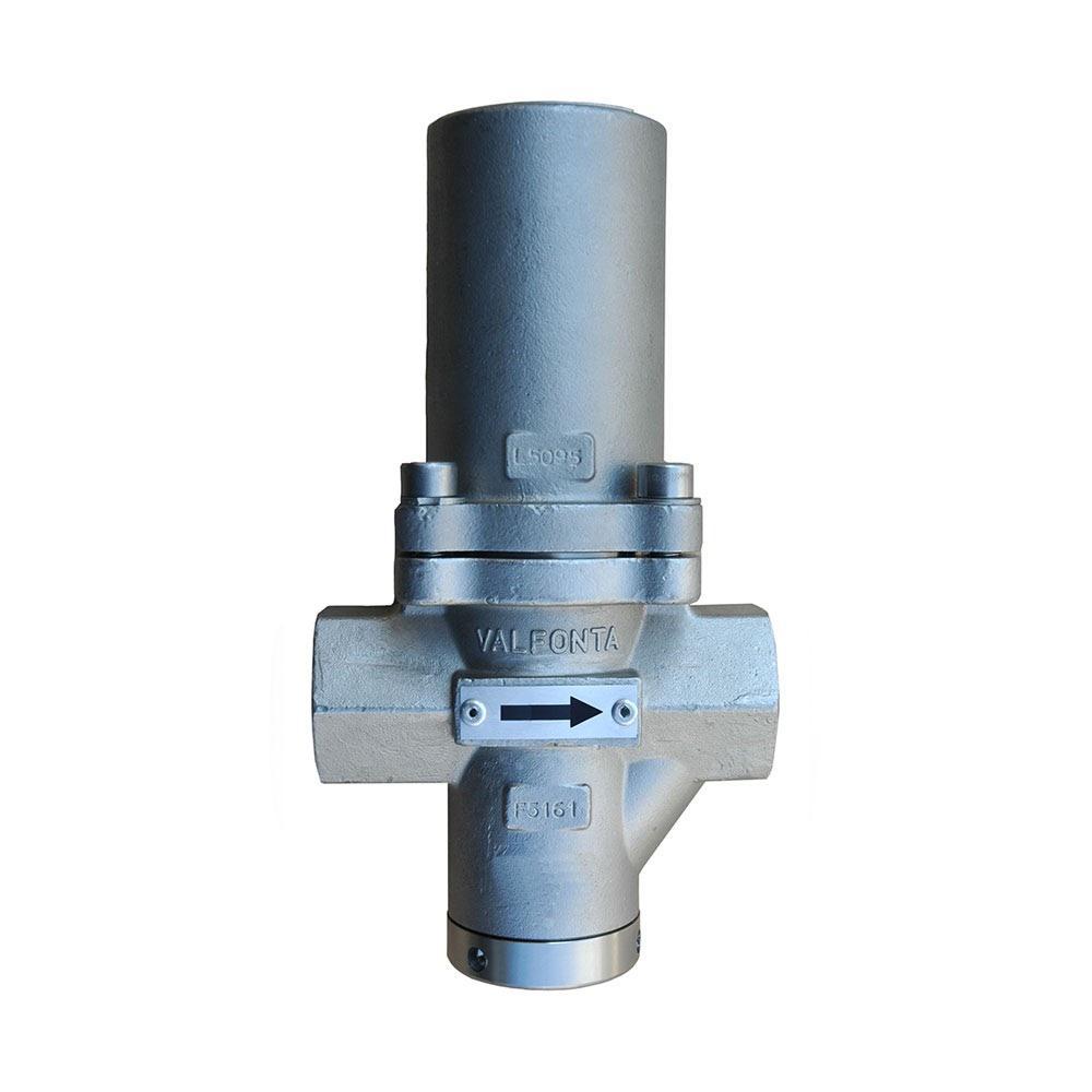 cómo se regula una válvula reductora de presión