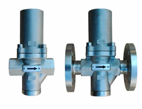 A water pressure reducing valve ¾