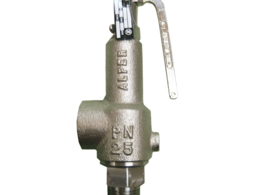 What is the difference between a safety valve and a pressure relief valve?